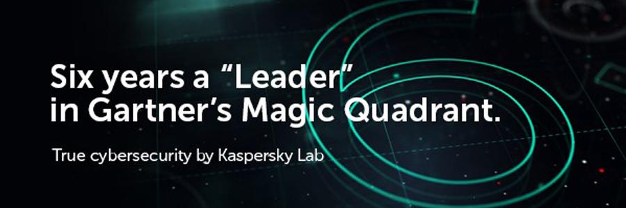 "Kaspersky Lab Six years a ""Leader"" in Gartner's Magic Quadrant"